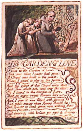 blakes the garden of love essay
